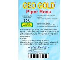 GEO GOLD - Piper rosu boabe 30g